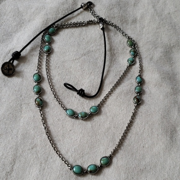 Fossil Jewelry - {Fossil} Mixed Media Necklace